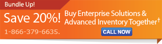 20% off Enterprise Solutions & Advanced Inventory