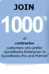 Join thousands of contractor businesses that prefer QuickBooks Enterprise accounting software