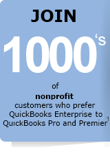 Join thousands of nonprofit organizations that prefer QuickBooks Enterprise Solutions