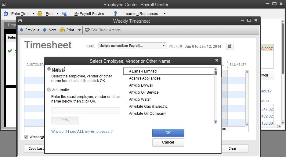 how to set up direct deposit for employees quickbooks